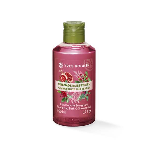 Suihkugeeli - Pomegranate Pink berries, 400 ml