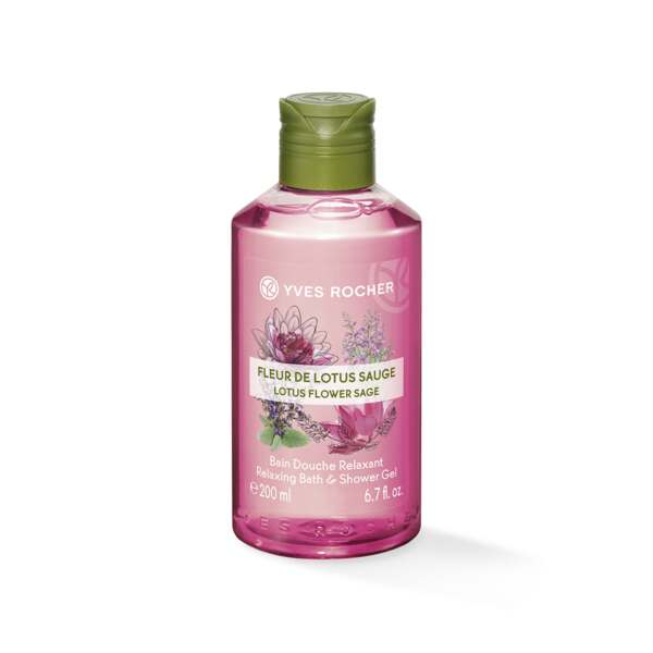 Suihkugeeli - Lotus flower Sage 200 ml