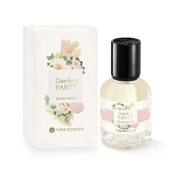 Eau de Parfum - Garden Party, ruusu, minttu, 30 ml