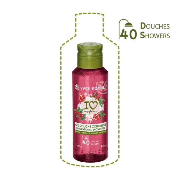 Tiivistetty suihkugeeli - Pomegranate Pink berries 100 ml
